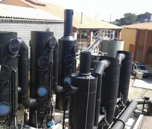 Désodorisation station d'épuration